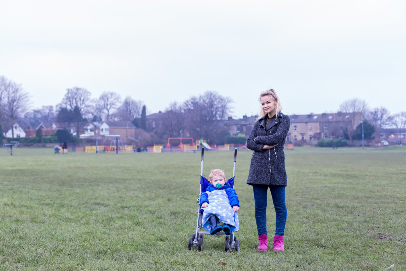 Sixteen and Proud to be a Mum - Northern English Town